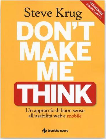 libri di ux design Don't make me think