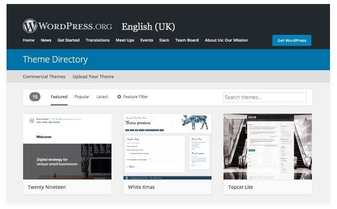 temi wordpress