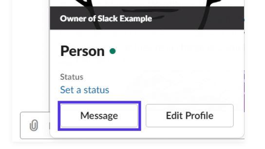 messaggio privato